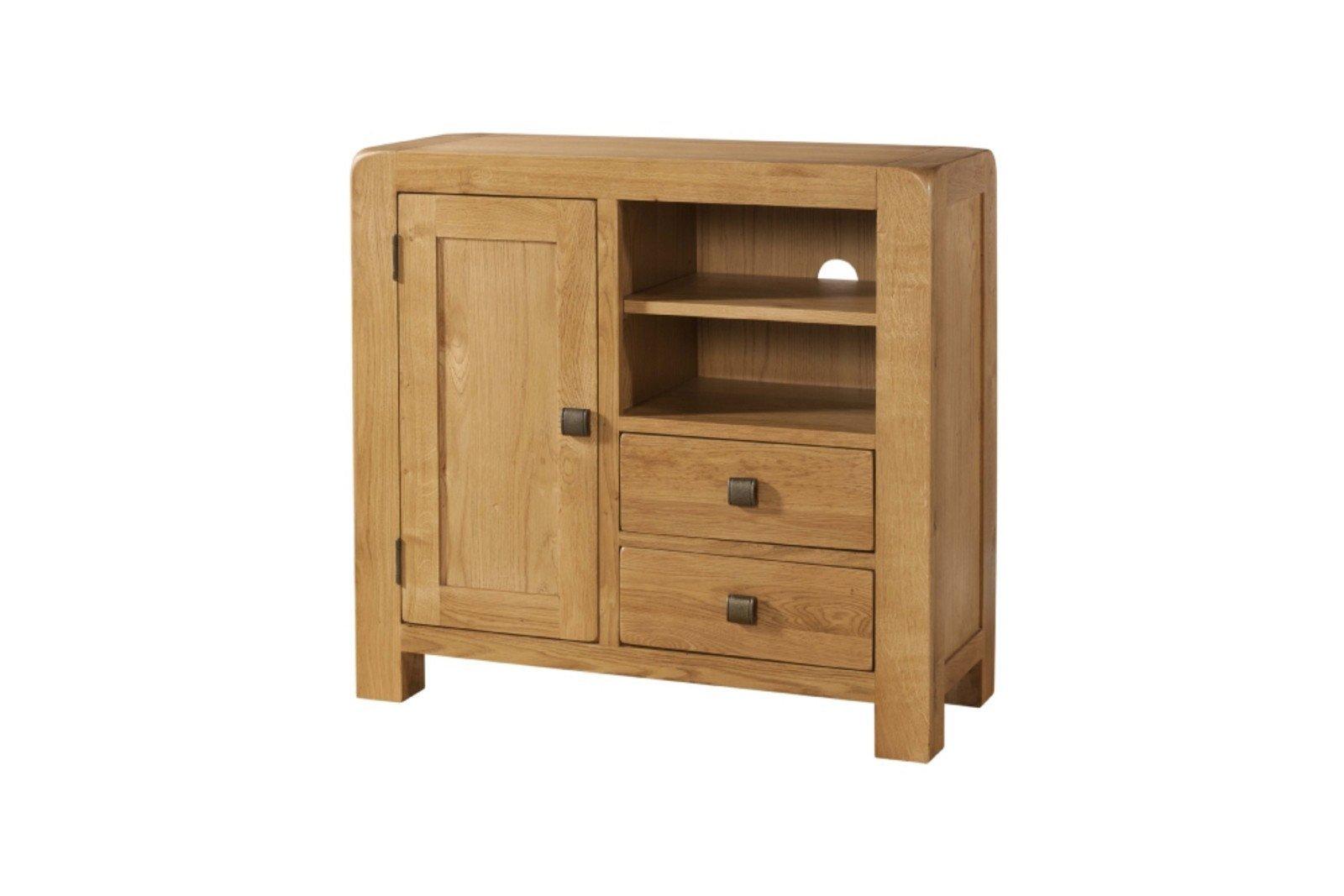 Avon Oak Media Unit Sideboard Online Bed Mattress