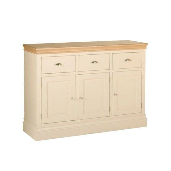 Lundy Painted 3 Drawer Sideboard Online Bed Mattress