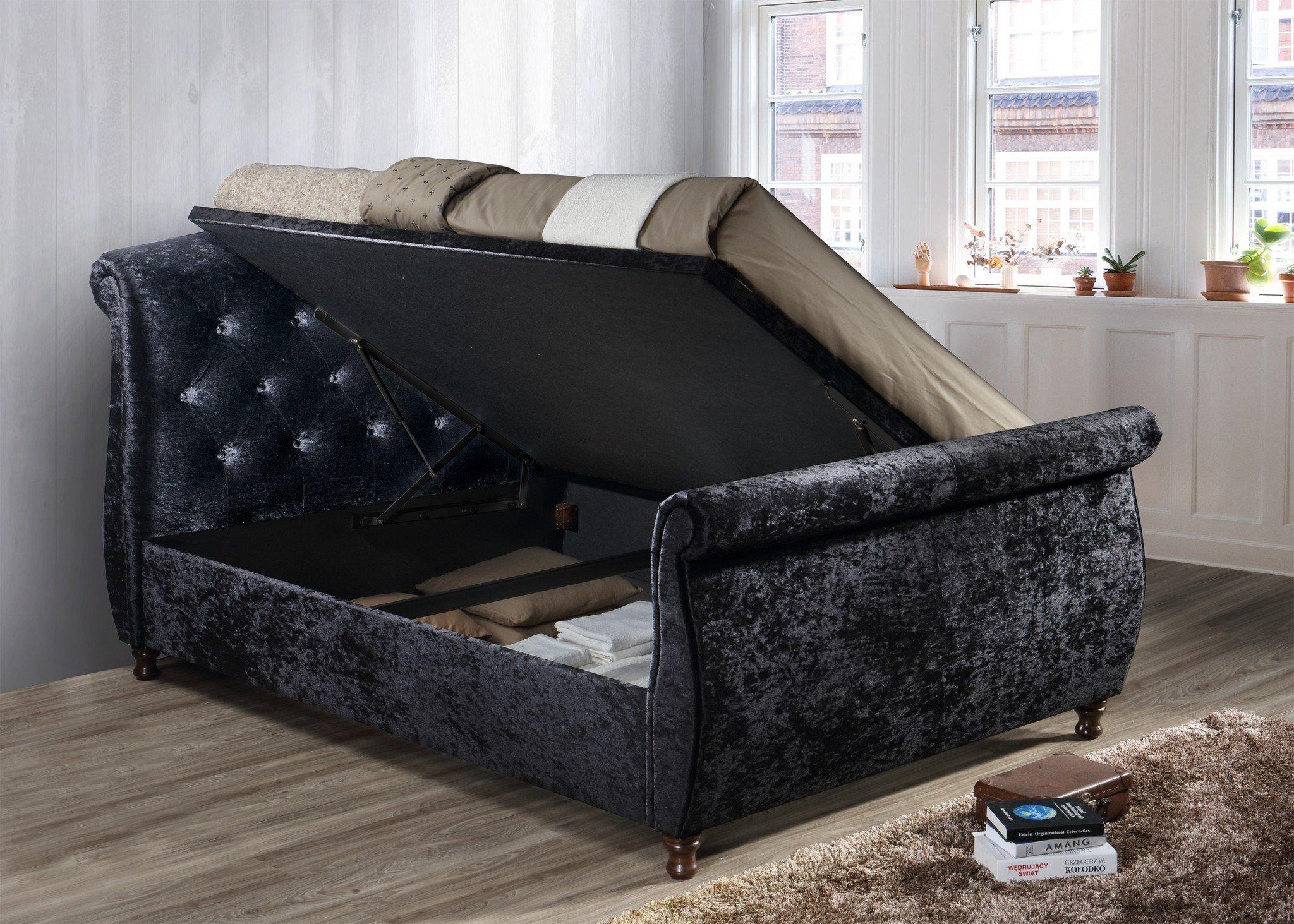 birlea toulouse side ottoman bed frame online bed. Black Bedroom Furniture Sets. Home Design Ideas