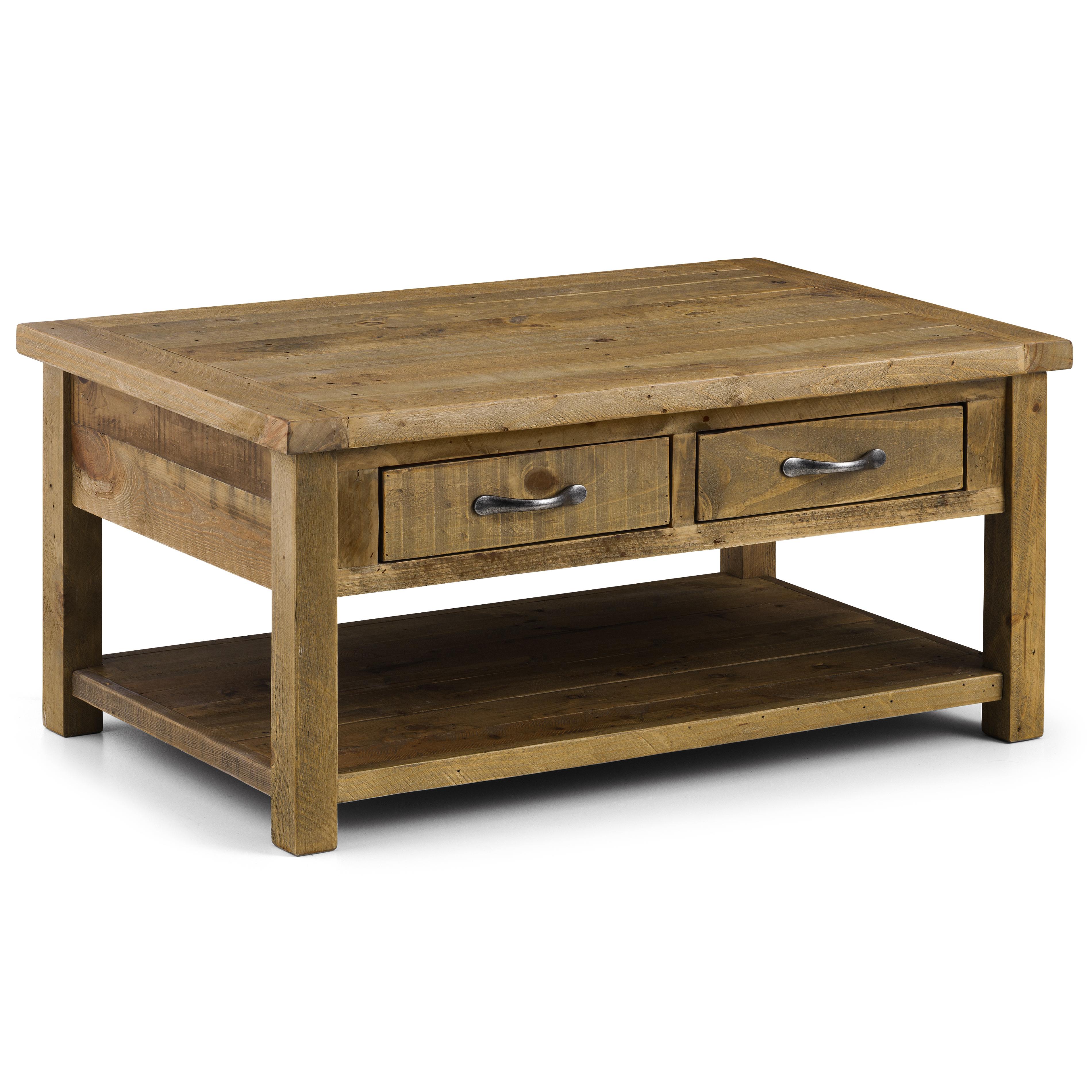 Julian Bowen Astoria Coffee Table With 2 Drawers