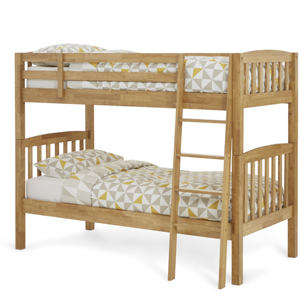 Serene Ella Honey Oak Bunk Bed  Online Bed \u0026 Mattress Store: Shops In South London \u0026 Surrey