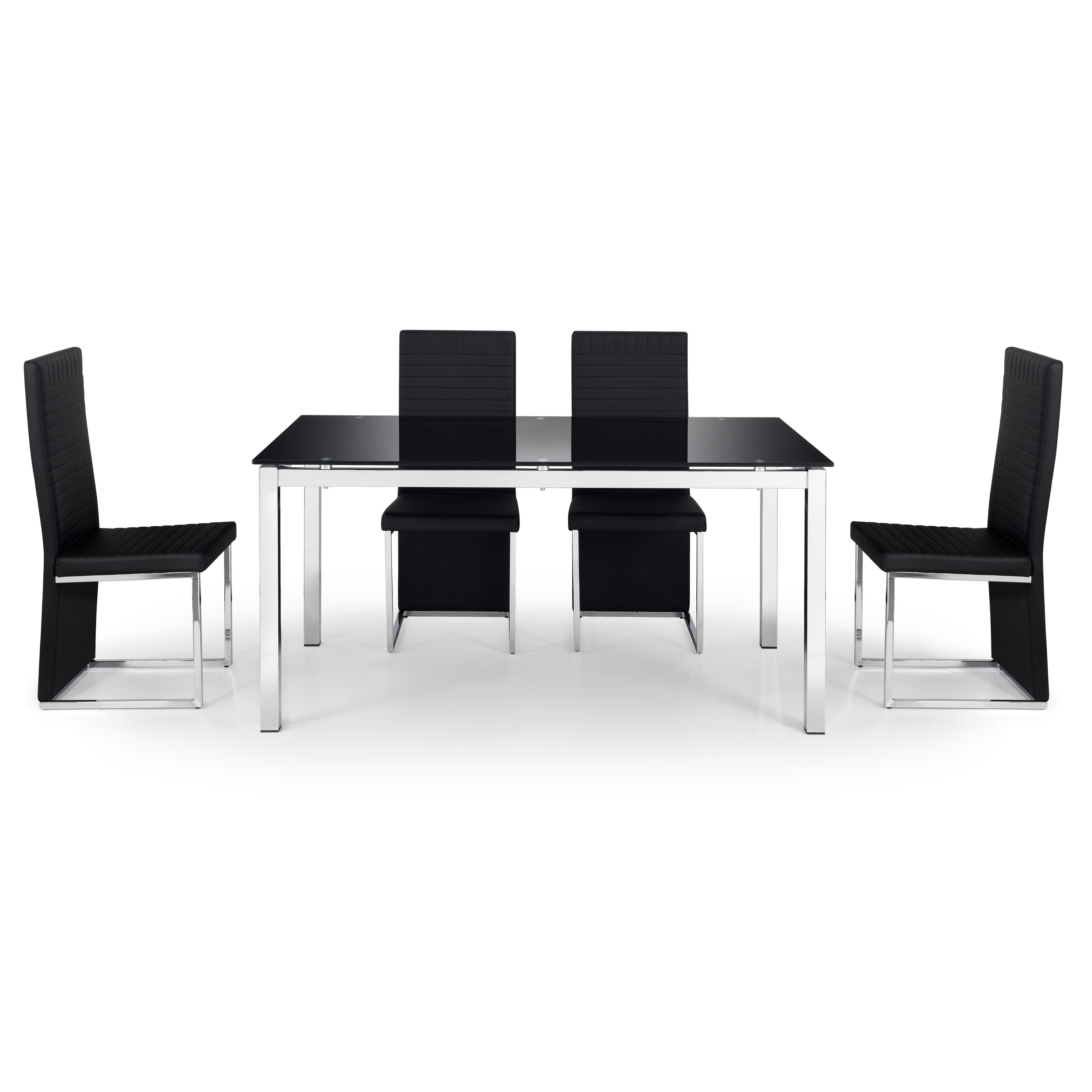 Julian Bowen Tempo Glass Dining Table Online Bed