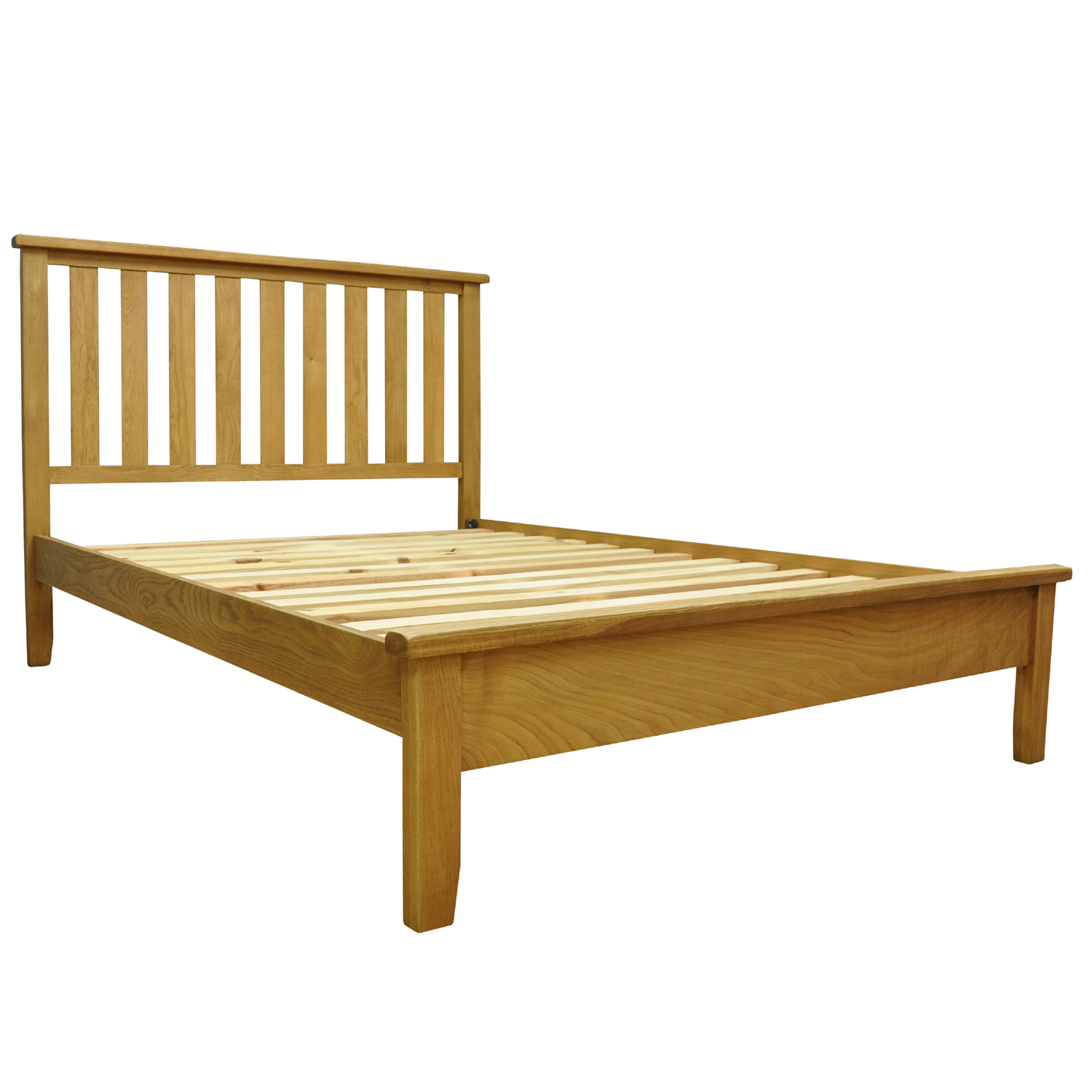 Stockholm Waxed Oak Finish Bed - Online Bed & Mattress Store: Shops ...