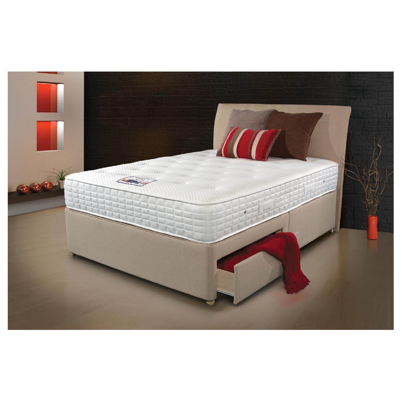Bed Stores Online: Sleepeezee Cool Sensations 1400 2 Drawer Divan Bed