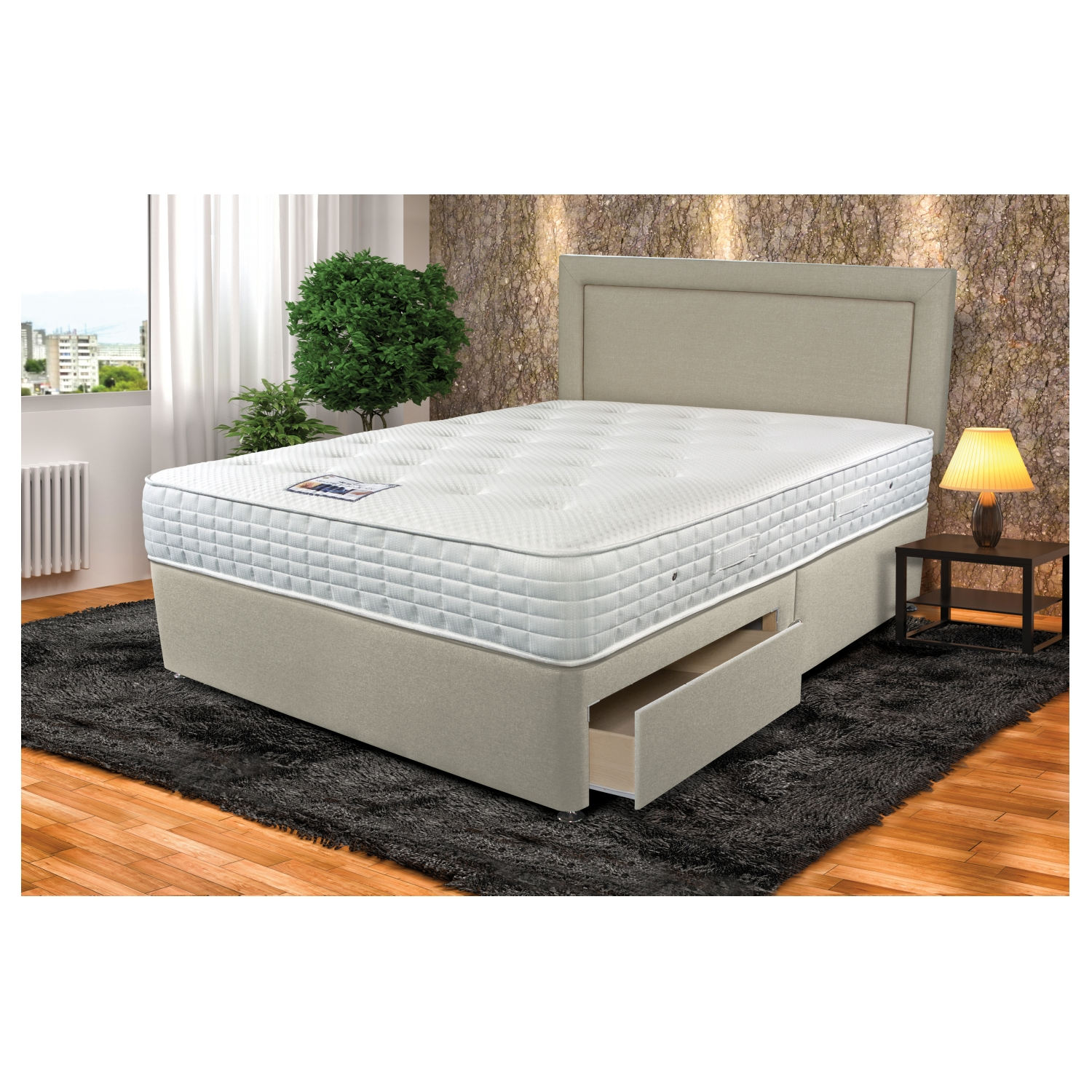 Astonishing Sleepeezee Cool Sensations 1400 Ottoman Divan Bed Uwap Interior Chair Design Uwaporg