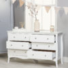 PAR6CHWHTV2_Paris 6 Drawer Chest_Drawers Open