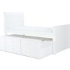 VERB3WHT_Verona Bed White_Trundle Out