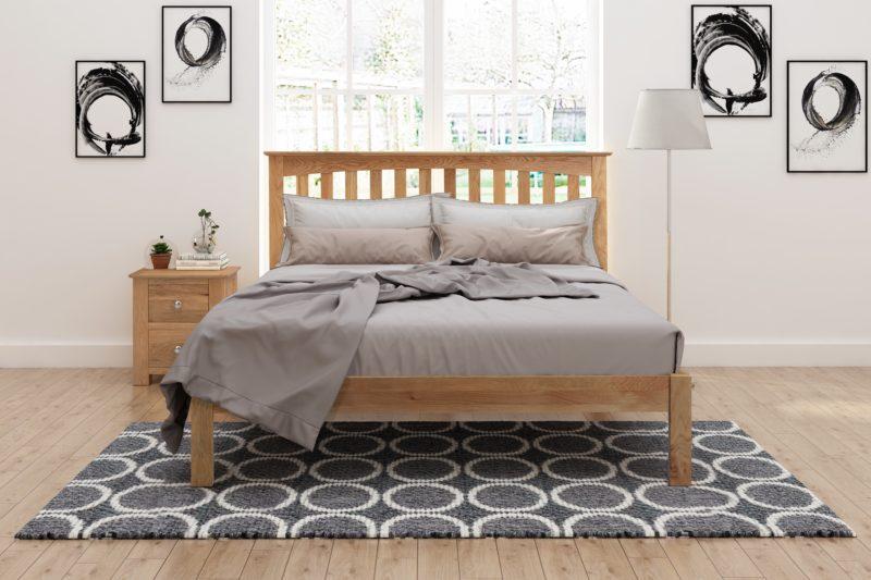 Gladstone Oak Bed Hamseys